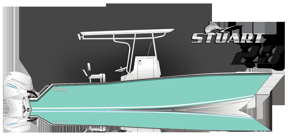The Stuart 23 - Stuart Boatworks