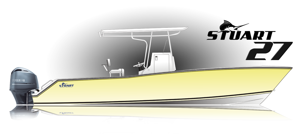 Stuart 27 Center Console Boat
